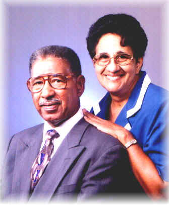 THE POET AND HER HUSBAND.    Pastor Silas and Mrs Ruth McKinney.