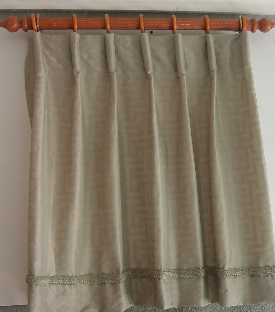 Goblet Pleated Curtains Cartridge